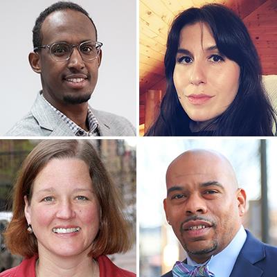 Mukhtar Ibrahim, Leah Lemm, Jana Peterson, Harry Colbert, Jr.