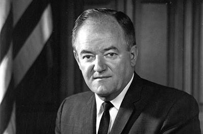 Hubert Humphrey's vice presidential portrait