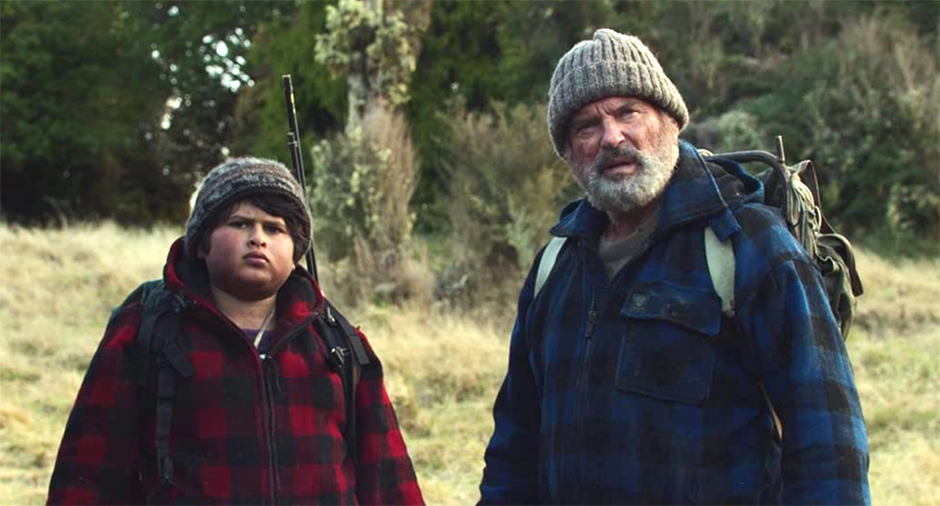 "Sam Neill, right, and Julian Dennison in a scene from ""Hunt for the Wilderpeople."""