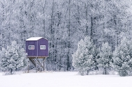 Hunting blind, Aitkin County