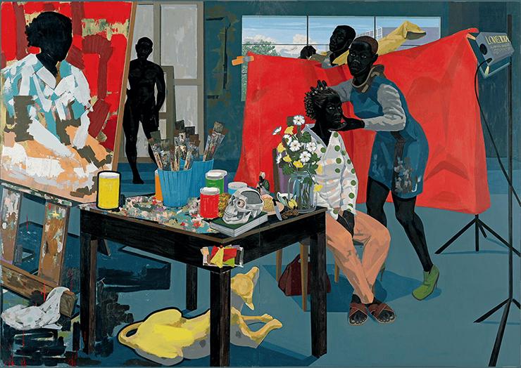"""Kerry James Marshall """"Untitled (Studio)"""" (2014)"""