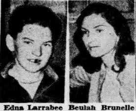 mugshots of larrabee and brunelle