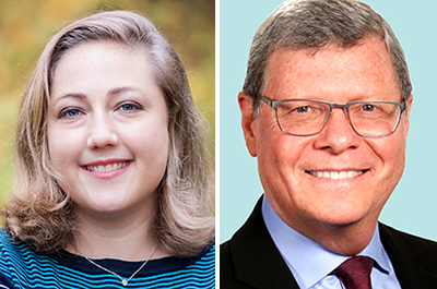 Sarah Longwell and Charlie Sykes