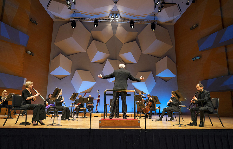 The Minnesota Orchestra in dress rehearsal on Jan. 29.