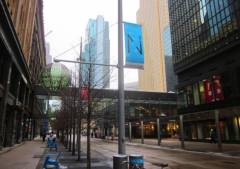 Nicollet Mall, downtown Minneapolis