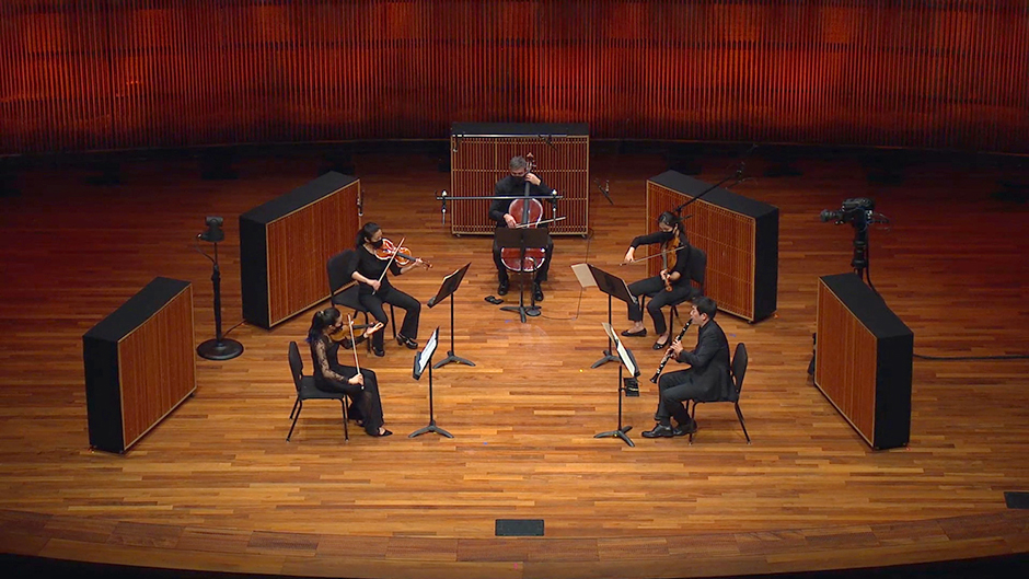 St. Paul Chamber Orchestra musicians will perform chamber music repertoire for small ensembles, for physical distancing reasons.