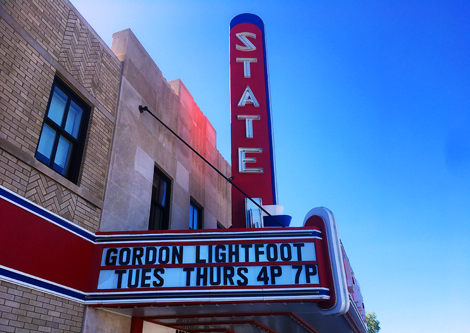 Completed projects that took advantage of the Minnesota Historic Structure Rehabilitation State Tax Credit included the State Theater in Ely.