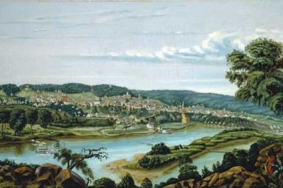 painting of st. paul in 1855