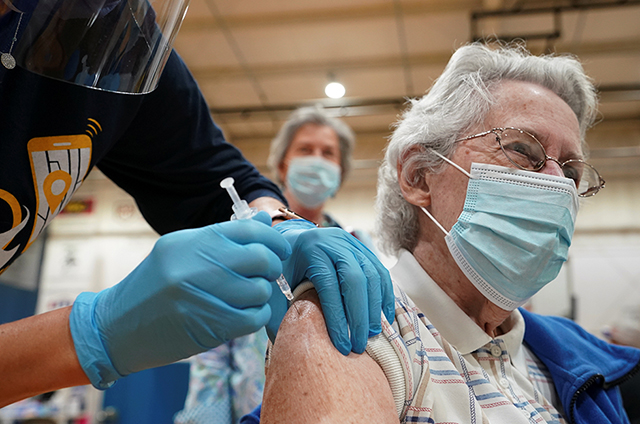 Minnesota is among the top states for vaccination of seniors.