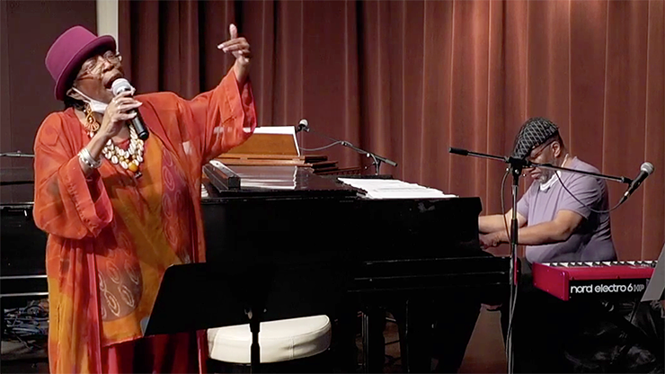 Jazz Fest Live streamed one of Debbie Duncan's final performances with her brother, William E. Duncan III, at Walker West on June 25, 2020.