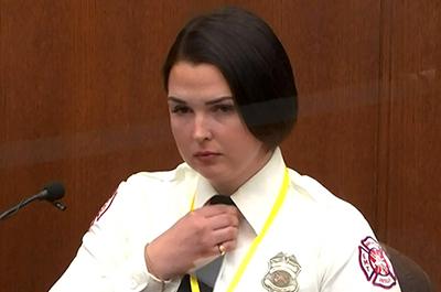EMT Genevieve Hansen