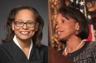 Judges Natalie E. Hudson, Wilhelmina Wright
