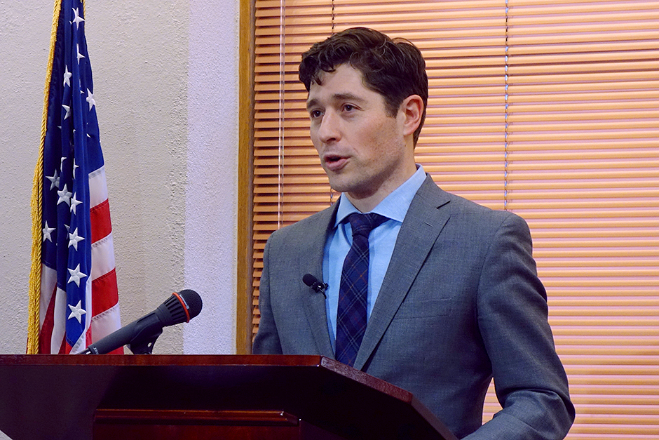 By Valentine's day, only Mayor Jacob Frey and one other candidate had declared.
