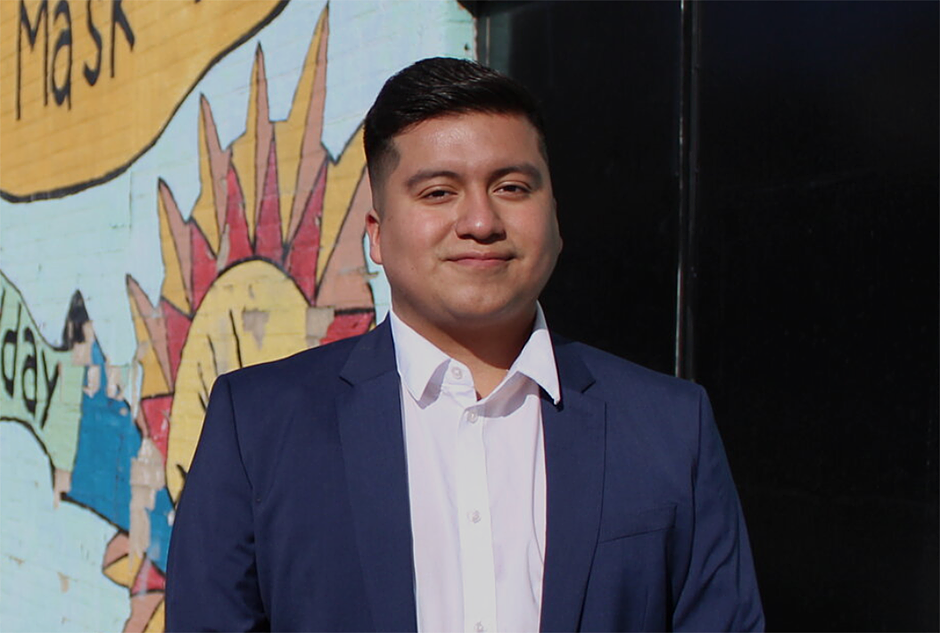 Jason Chavez says one priority is pushing the city to do more to help immigrants, including protecting undocumented residents.