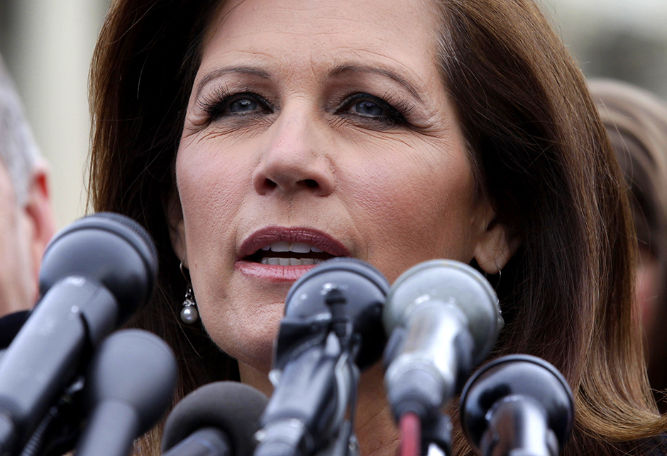 Former-Rep. Michele Bachmann shown in a photo from May 16, 2013.