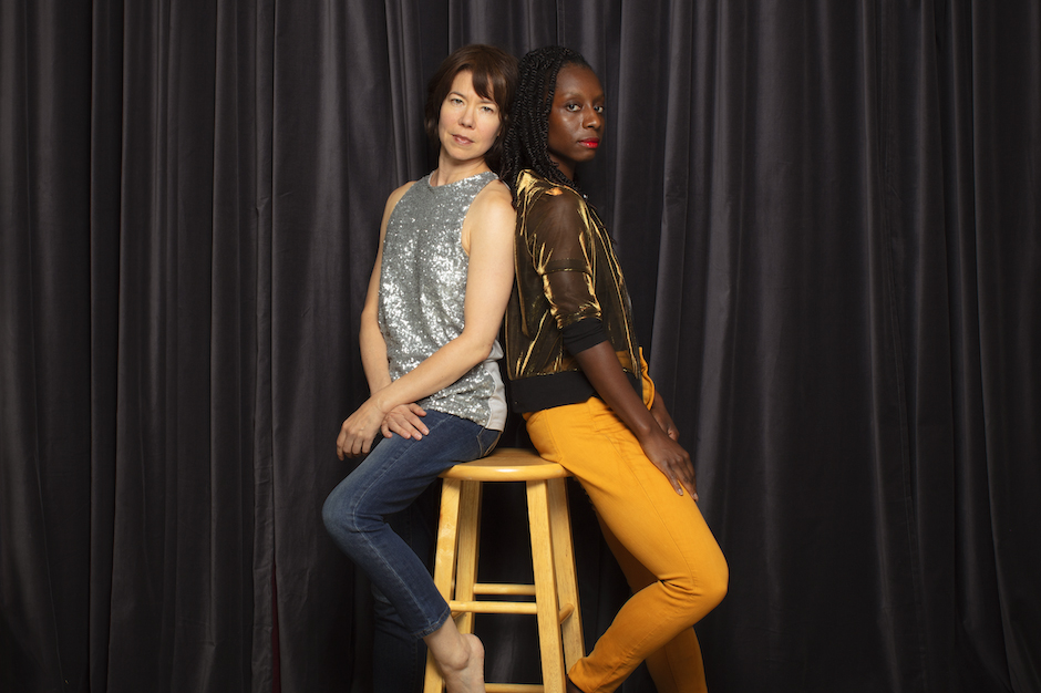 """""""Merges in March"""" continues this Friday through Sunday with Penelope Freeh and Alana Morris-Van Tassel's """"Bring it down under your feet."""""""