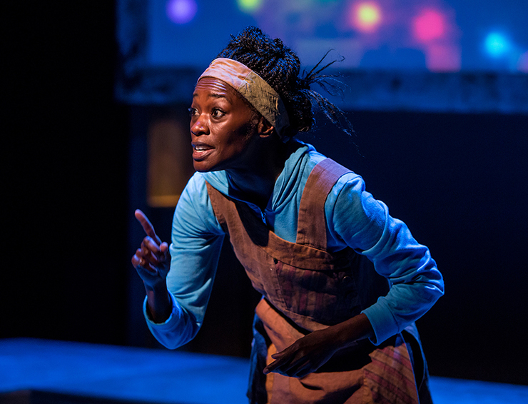 """Sonja Parks plays 11 different characters in """"Seedfolks,"""" adapted from the Newbery-winning book by Paul Fleischman."""