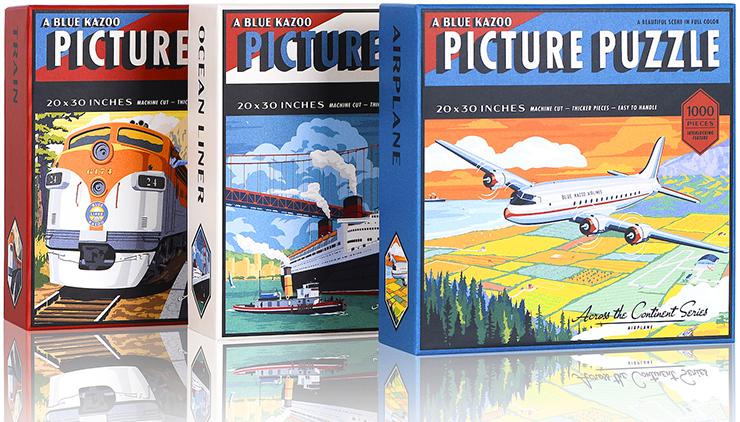 Blue Kazoo debuted their Vintage Travel series last week.
