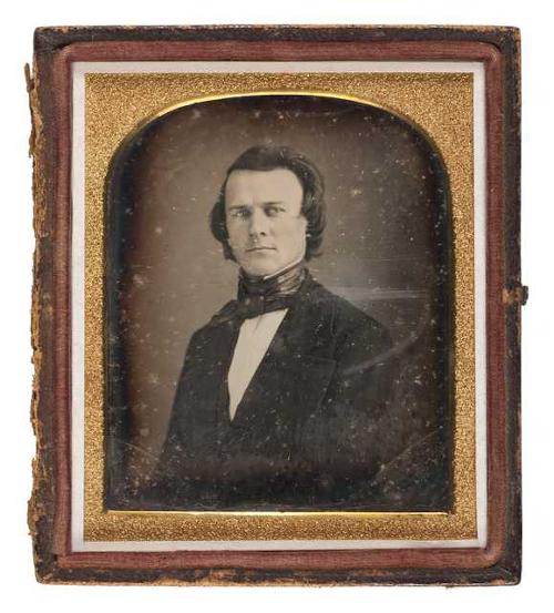 historical portrait photo of william gates leduc