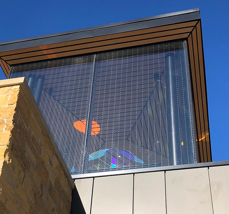 The Bakken built its tower with bird-safe lighting and AviProtek bird-safe fritted glass.