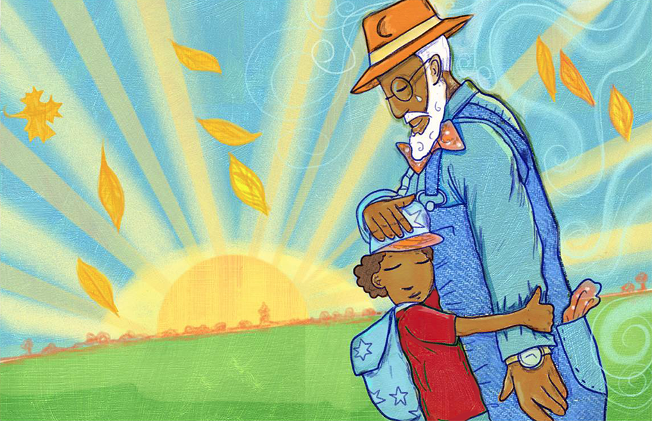 """The 2021 Minnesota Book Award for Children's Literature: """"Big Papa and the Time Machine."""""""