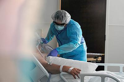 coronavirus disease patient