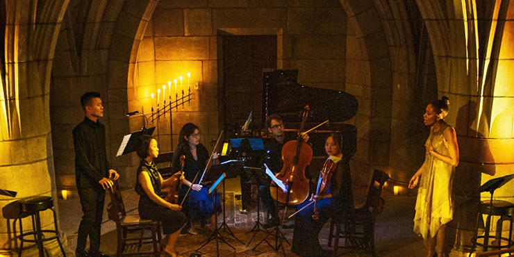 """An image from Salon Seance's """"The Crypt Sessions."""""""