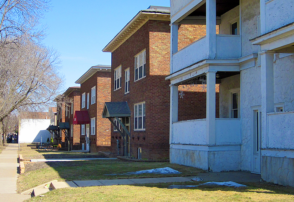 Apartments on Grand Avenue in St. Paul