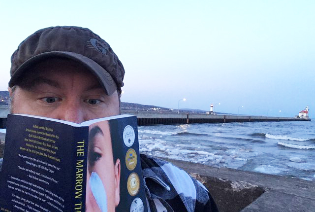 From the Book Awards' Call for Selfies: Matt from Duluth.