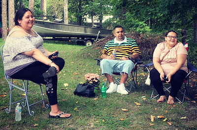 Video participants Sara King, RayShayna Roberts and Carl White.
