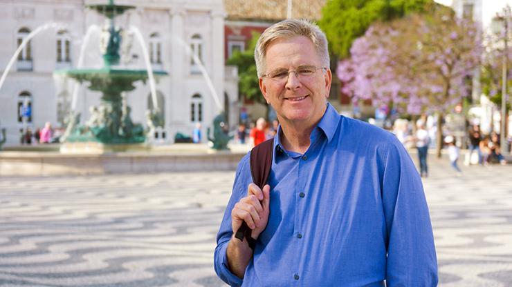 """TV travel host Rick Steves will introduce """"A Musical Passport."""""""