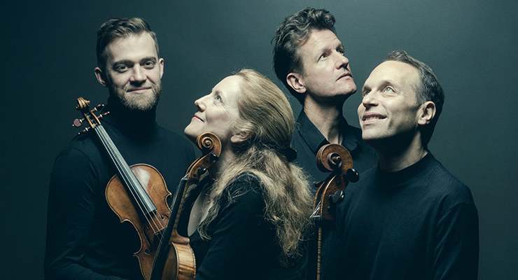 The St. Lawrence String Quartet will perform Haydn's String Quartet in D and Debussy's String Quartet in G.