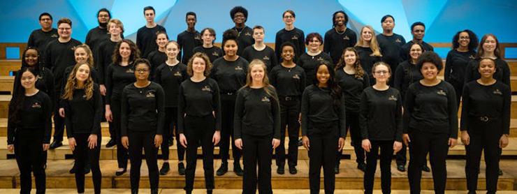 G. Phillip Shoultz leads VESOTA in an inspiring, uplifting, family-friendly – and, in this moment, potentially healing – concert by its diverse and engaging choir of Twin Cities high school students.
