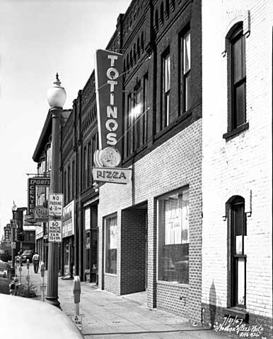 historic photo of totinos restaurant