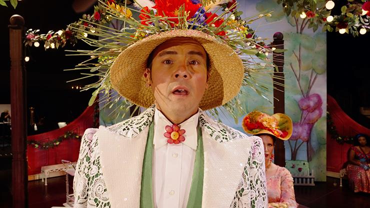 """David Portillo as """"Albert Herring."""""""