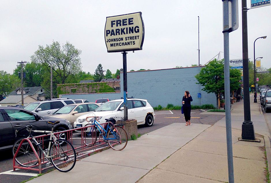 Both St. Paul and Minneapolis have had parking minimum rules on the books since the mid-1950s.