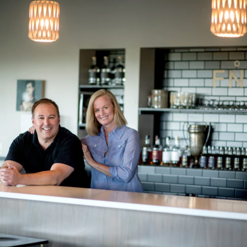 Michael Swanson and Cherry Reese  In 2013, they opened up the Far North spirits