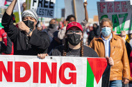 Hundreds of demonstrators