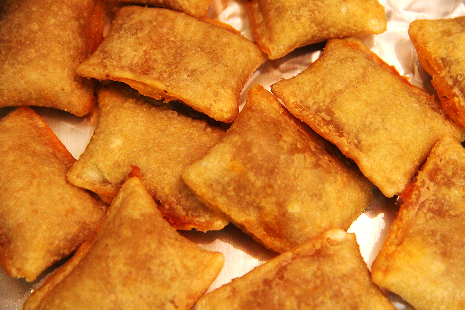 The story of the pizza roll really begins with Chinese restaurants in the United States.
