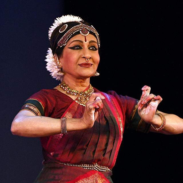"Ranee Ramaswamy in ""Sacred Earth."""