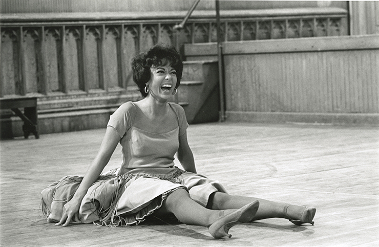 """A scene from """"Rita Moreno: Just Another Girl Who Decided to Go for It."""""""