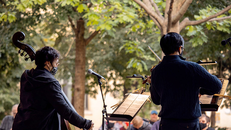 The St. Paul Chamber Orchestra has added four outdoor concerts to the end of its 2020-21 season.