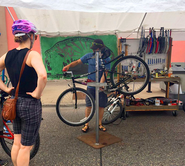 Tamales y Bicicletas seeks to improve the health of low-income communities of color.