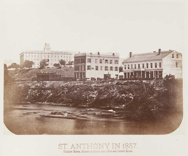 historic photo of buildings in st. anthony