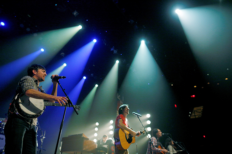 The Avett Brothers will perform on the Basilica Block Party Main Stage on Sept. 11.