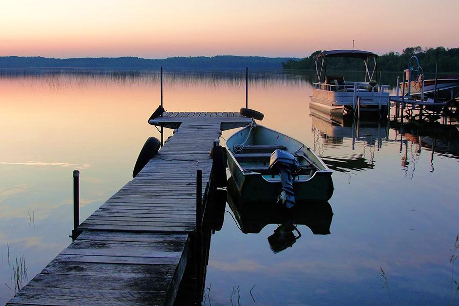 Bass Lake, near Cohasset