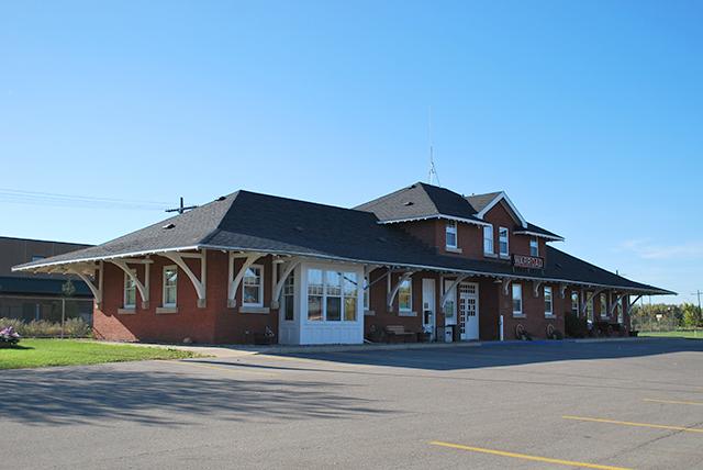 Canadian National Depot, 121 Main Ave., NE., Warroad