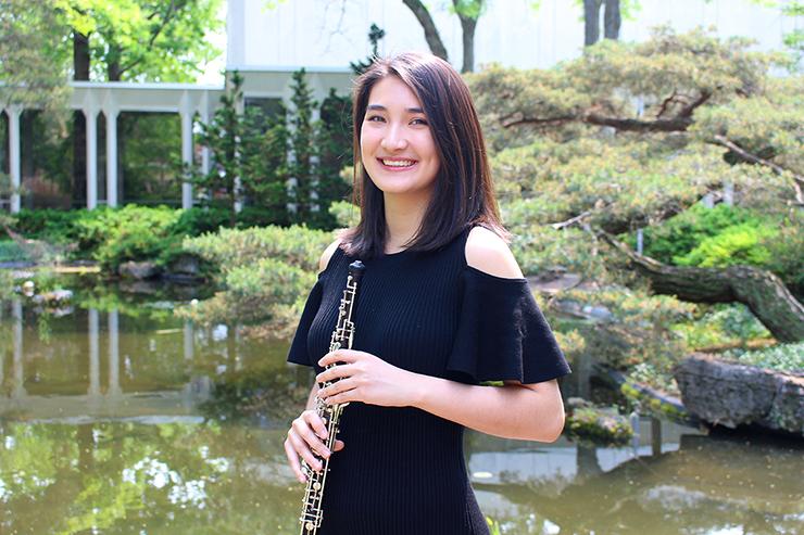 Cassie Pilgrim, the SPCO's new principal oboe.