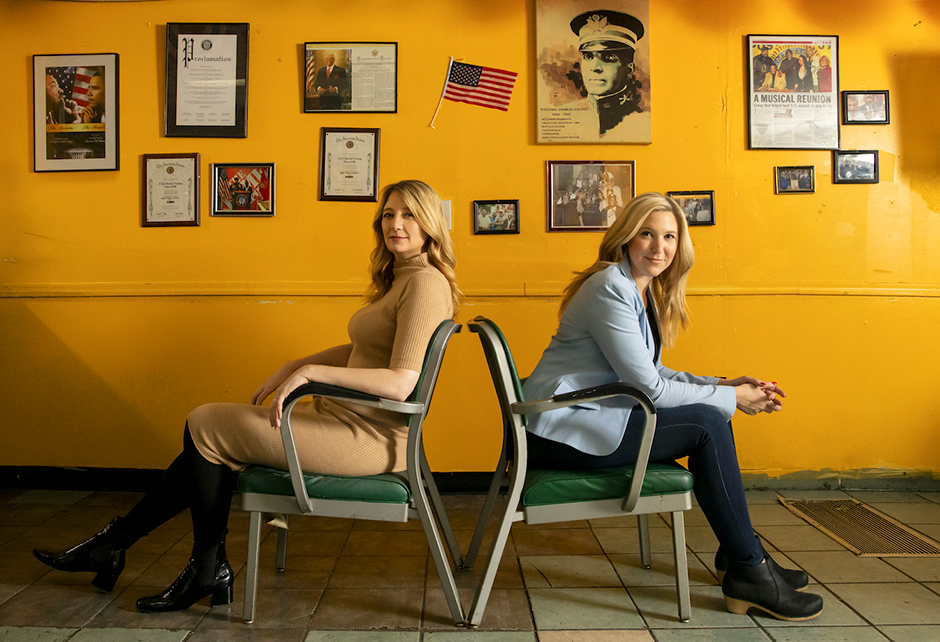 """The Guthrie's 2021-22 season will open with the touring production of Heidi Schreck's """"What the Constitution Means to Me,"""" starring Cassie Beck, right."""