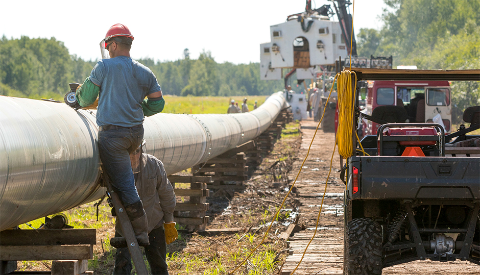 An image of the Line 3 Replacement Program from Enbridge's website.